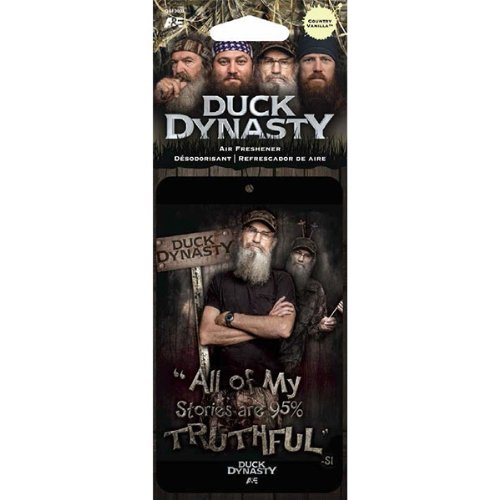 Uncle Si All of My Stories Are 95% Truthful Character TV Show Series A& E Duck Dynasty Max-4 Camo Car Truck SUV Boat Home Office Air Freshener - Country Vanilla Scent LA Auto Gear