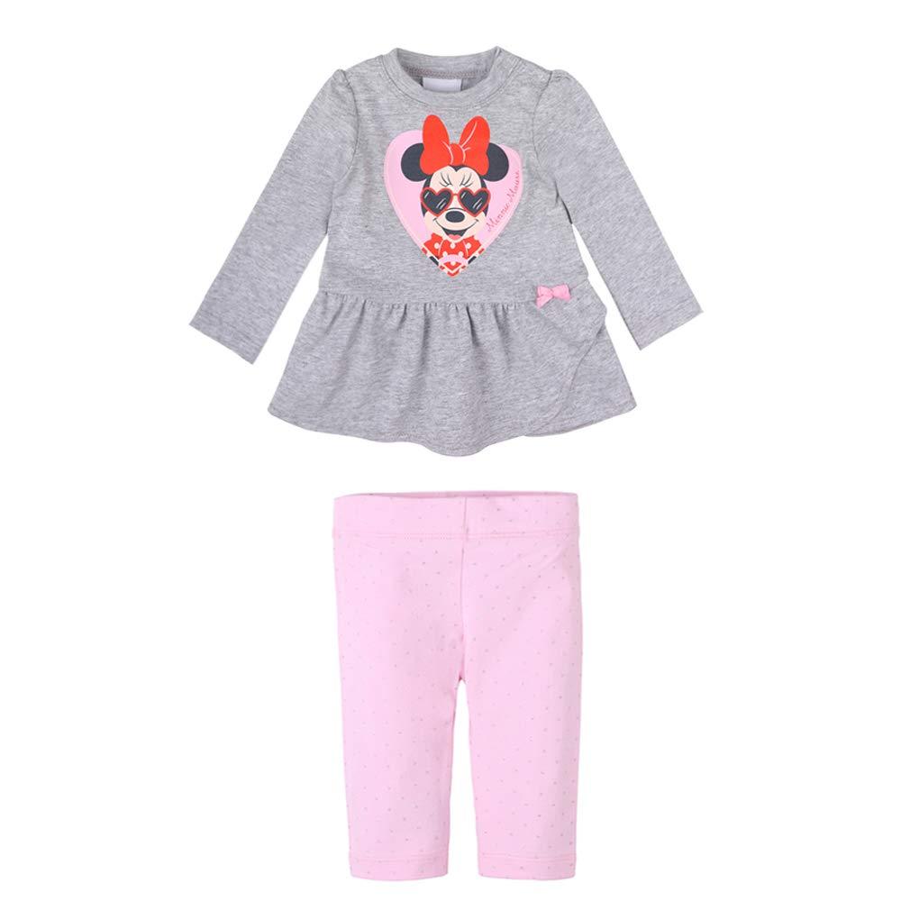 Disney Bebé, recién Nacido niñas Minnie Mouse Set: Camiseta, T ...