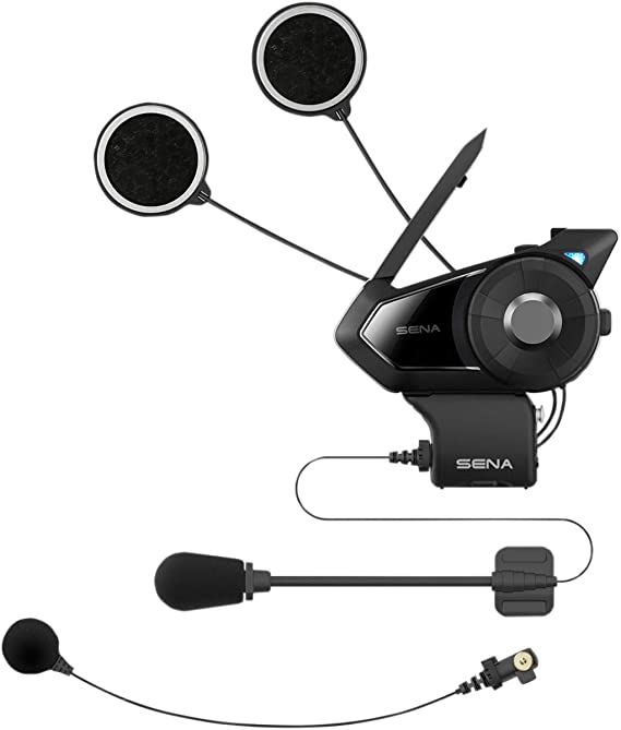 Sena 30K-01D Motorcycle Bluetooth Communication System with Mesh Intercom - Dual Kit [ Dual Pack ]