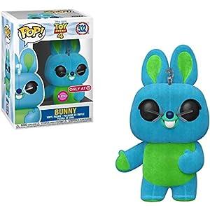 Bunny [Flocked] (Target Exclusive): Disney Pixar Toy Story 4 x Funko POP! Vinyl Figure & 1 POP! Compatible PET Plastic…