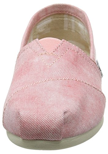 Coral Seasonal Casa Chambray Alpargata Mujer TOMS Classics para de por Zapatillas Estar xPZ75wT1