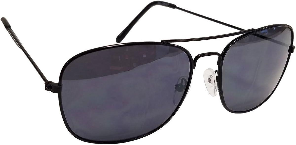 Elegant Classic Original Style Metal Frame Aviator Sunglasses,Free Carrying Pouch
