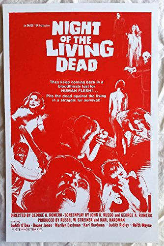 Night of the Living Dead Poster 11 x 17 inches George -