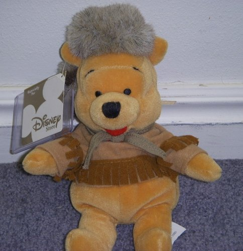 Disney Daniel Boone Winnie the Pooh Western Frontier Pooh Bear with Coon Cap 8