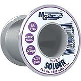 MG Chemicals 63/37 Rosin Core Leaded Solder, .4″ Diameter, 1/2 lbs Spool