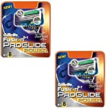 Gillette Fusion PROGLIDE POWER Razor Blades Refills Made in Germany 16 Pack
