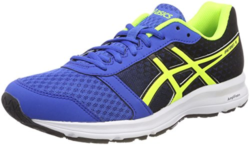 Asics Herren Patriot 9 Laufschuhe Blau (Victoria Bluesafety Yellowblack 4507)