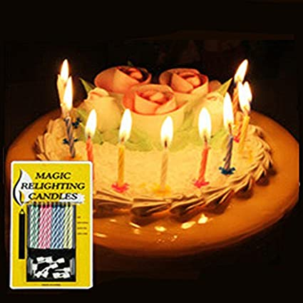 2packs20pcs High Quality Colorful Birthday Cake Candles With Colored Flamescandle Free Shipping