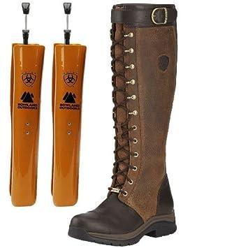 Ariat Berwick GTX Boots, Ebony, Incl. Ariat Boot Trees: Amazon.co ...