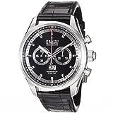 Zenith El Primero Rattrappante Black Dial Automatic Chronograph Mens Watch 032050402691C714