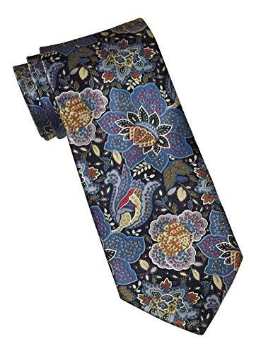 Brioni Satin Multicolored Paisley Print Tie ()