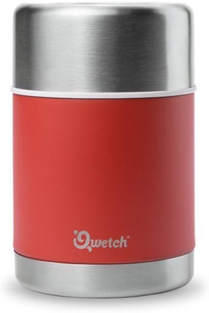 Bo/îte /à lunch isotherme /à vide Bo/îte /à lunch isotherme /à bento Bo/îte /à lunch isotherme en acier inoxydable avec maintien au chaud pendant 8 heures avec cuill/ère pliante de 1,6 L par AumoToo Argen