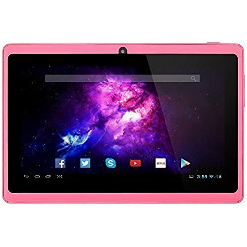 Alldaymall A88X 7 Tablet - Android 4.4, Quad Core, HD 1024x600, Dual Camera, Bluetooth, Wi-Fi, 8GB, 3D Game Coupons