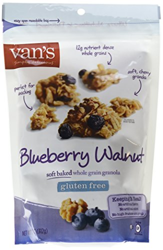(Van's Simply Delicious Gluten-Free Soft and Chewy Granola, Blueberry Walnut, 10 oz.)