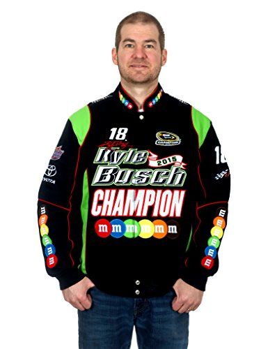 Kyle Busch 2015 Champion NASCAR Jacket - Sunglasses Outfitters Circle Urban