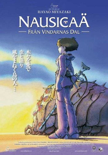 Pop Culture Graphics Nausicaa of The Valley of The Wind Poster Movie German (27 x 40 Inches - 69cm x 102cm)
