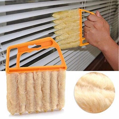 - Copter shop Useful Microfiber Window cleaning brush air Conditioner Duster cleaner with washable venetian blind blade cleaning cloth