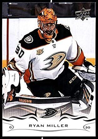 Amazon.com  2018-19 Upper Deck  255 Ryan Miller NM-MT Anaheim Ducks ... de2c5794f