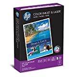HP Papel de color, inyección de tinta y láser Poly Wrap fabricado en EE. UU, Carta, Blanco, 400 Hojas