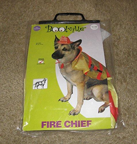 Fire Dog Costume (Fire Chief Pet Costume Medium)