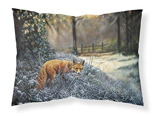 Caroline's Treasures Fox on The Hunt Fabric Standard Pillowcase BDBA0347PILLOWCASE, Multicolor ()
