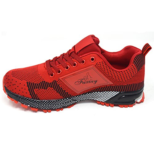 Absorbant Femmes Dames Fitness Gym Taille Chocs 8 Running Rose Blanc Noir Chaussures De Rouge 3 Baskets Xelay Les Violet Sport qEp5Mdfwpo