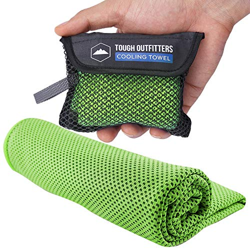 Cooling Towel - Cool Neck Wrap for Instant Relief - Cold Chilly Cloth for Summer Heat - Ideal for All Sports, Running, Hiking, Camping, Travels, Gym Workout, Fitness, Yoga & Golf - UPF 50 (Best Cold Weather Vest)