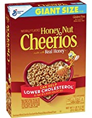 Honey Nut Cheerios, Gluten Free Cereal With Oats