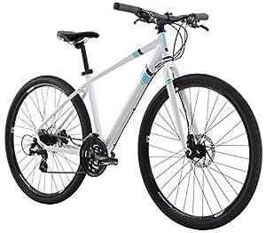 "Diamondback Bicycles 2016 Calico Women's Specific Complete Dual Sport Bike, 14""/X-Small, Pearl White"
