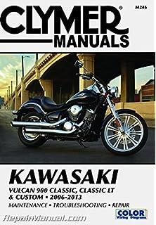 Amazon.com: Clymer Kawasaki Vulcan 900 Clic, Clic LT ... on