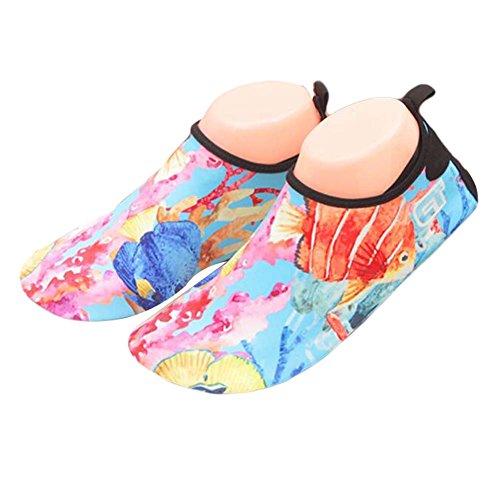 Yoga Bain Bleu Chaussures Sandales Plage de de Chaussures de Chaussures Femmes rouge d'eau Chaussures d'été gqUxCP