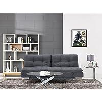 Serta Charcoal Grey Boca Sofa