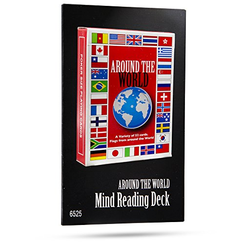 Magic Makers Around World Mind Reading Deck ()