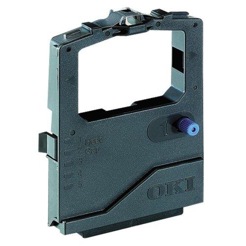 Oki Black Ribbon Cartridge Dot Matrix 7500000 Character 1 Reinker Microline 420 490 491 Series