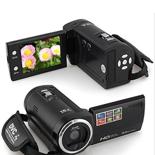 GordVE KG00l4 720P 16MP Digital Video Camcorder Camera DV DVR 2.7inch TFT LCD 16x ZOOM Portable Digital Video Recorder C6