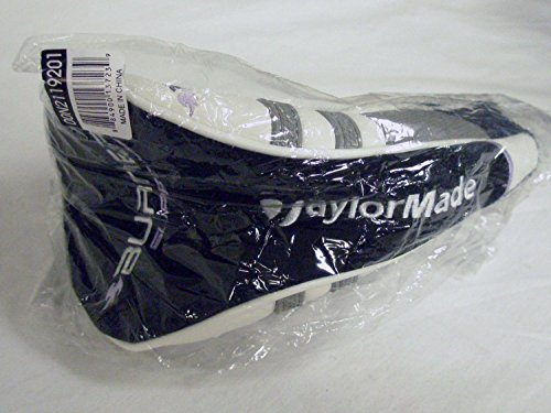 Taylor Made Burner Superfast Driver Headcover Blk/Grey LADY Golf Club Cover NEW (Driver Burner Headcover Taylormade)