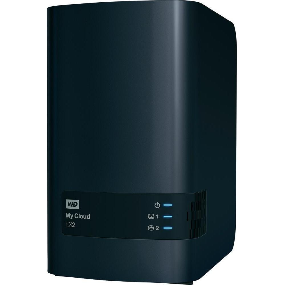 Western Digital 10TB My Cloud EX2 NAS Festplatte - LAN: Amazon.de ...