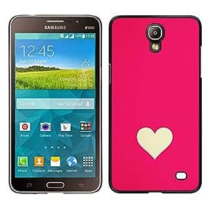 Stuss Case / Funda Carcasa protectora - Minimaliste Rose Blanc Valentines - Samsung Galaxy Mega 2