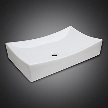 Merveilleux GotHobby Low Profile Ceramic Bathroom Faucet Vessel Vanity Sink Art Basin