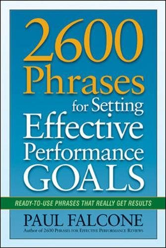 Phrases Setting Effective Performance Ready product image