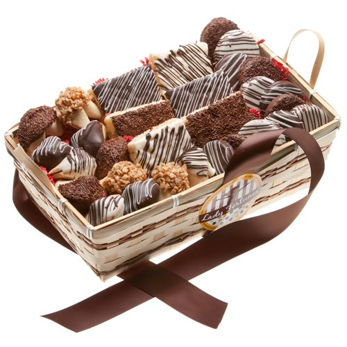 Deluxe 30 pc Cookie Gift Basket by The Gift Basket Gallery