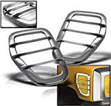 hummer h3 lights - ZMAUTOPARTS Hummer H3 Side Marker Light Covers Guard Trim Chrome Left+Right Pair