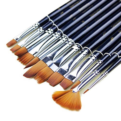 surblue-nylon-hair-paint-brush-set-set-of-12-for-watercoloracrylic-and-oil-painting