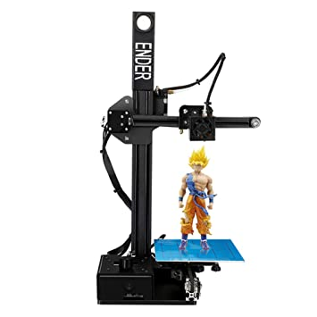Impresora 3D 3D Printer with Heated Build Plate,Includes Micro SD ...