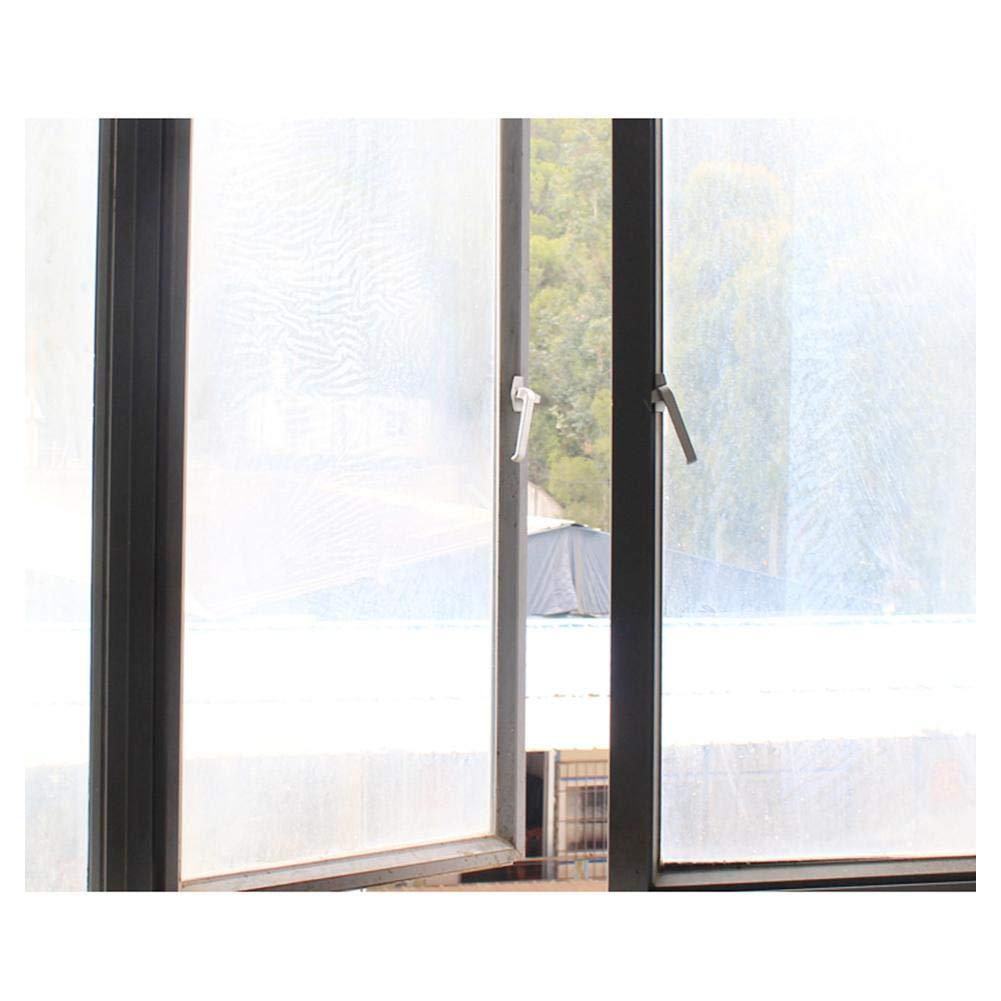 overlookTW Cubierta Aislante de Tela para Ventanas Abatibles para Aparatos De Aire Acondicionado Port/átiles y Secadoras F/ácil Instalaci/ón Evita La Entrada de Mosquitos Per/ímetro M/áximo de consistent