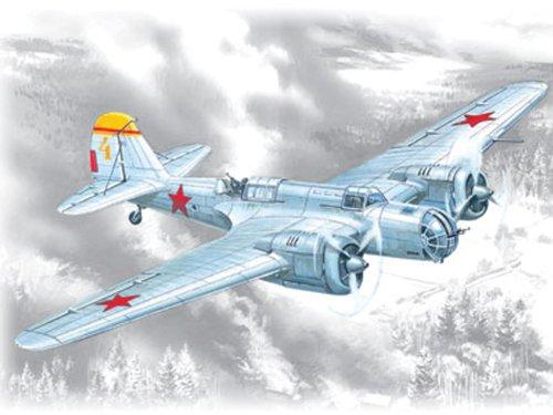 ICM Models SB 2M-100A WWII Soviet Bomber Building Kit