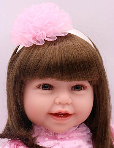 Pursue Baby 24 Inch Floppy Body Lifelike Toddler Princess Girl Doll Charlene by Pursue Baby (Image #1)