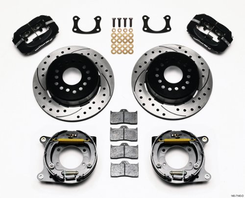 Wilwood 140-7140-D One Piece Brake Kit for Big Ford New Style with 2.5