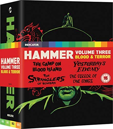 Hammer: Volume 3: Blood & Terror [Blu-ray] (Hammer Horror Blu Ray Collection)