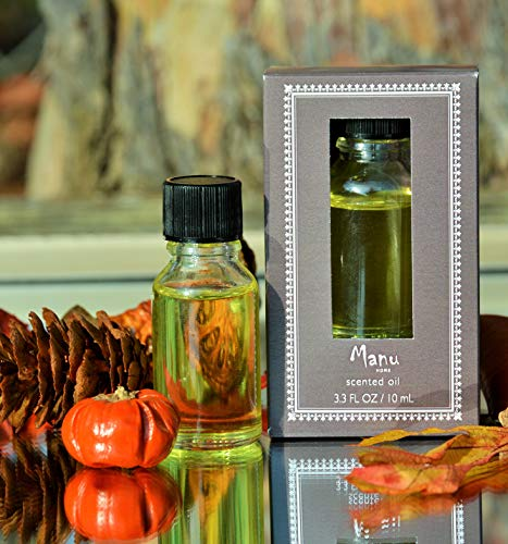 Manu Home Pumpkin Spice Potpourri Refresher - Delicious Scented Refresher Oil   Perfect Autumn Scent   Relaxing Home Fragrance   Scent Your Favorite Potpourri~